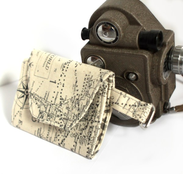 Map Travel Wallet