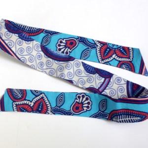 African Print Skinny Tie