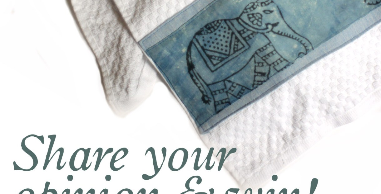 fair trade kitchen towels india africa