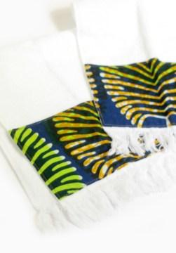 Fringe Fingertip Cotton Towels