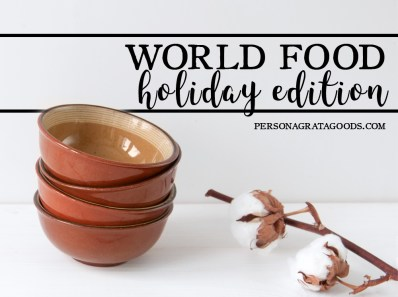 International holiday foods