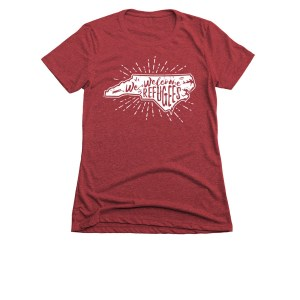 welcome refugees tshirt