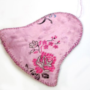 Hand Embroidered Bell Ornament Fair Trade