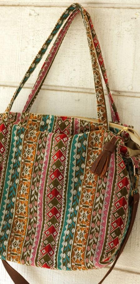 Thai Style Carpet Bag