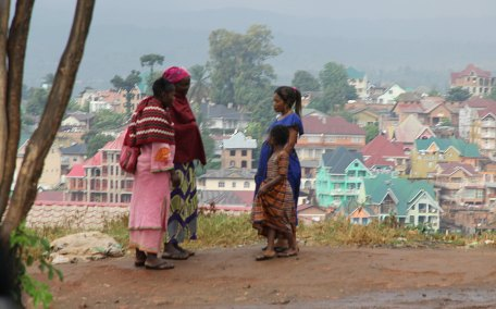 Town in the Congo DRC