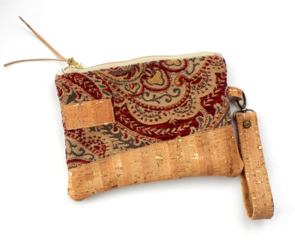 Carpet Bag Cork Purse North Carolina