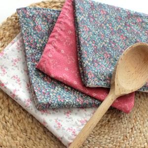 Modern Rustic Cloth Napkins