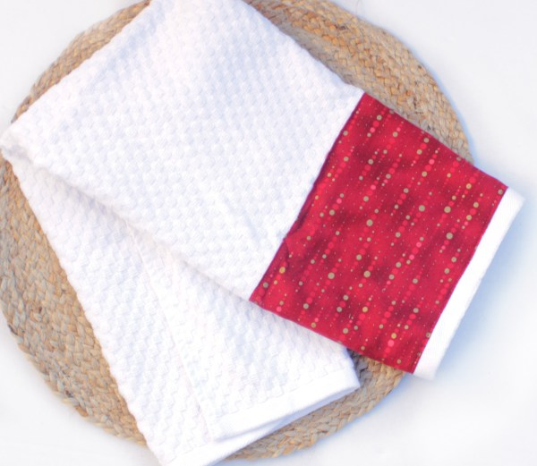 Holiday Waffle Weave Towels