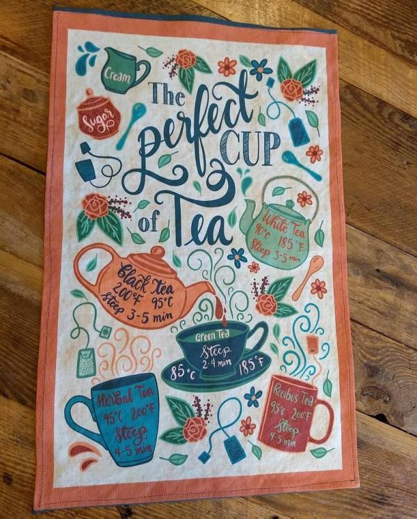 Fair Trade Tea Recipe Tea Towel