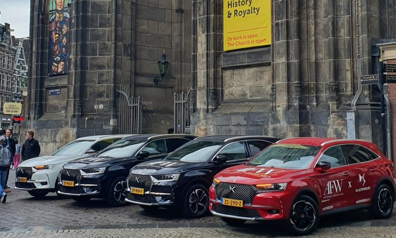 Photo of DS Automobiles supplies 15 models for Amsterdam Fashion Week