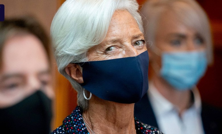 Photo of ECB President Lagarde announces digital euro in five years