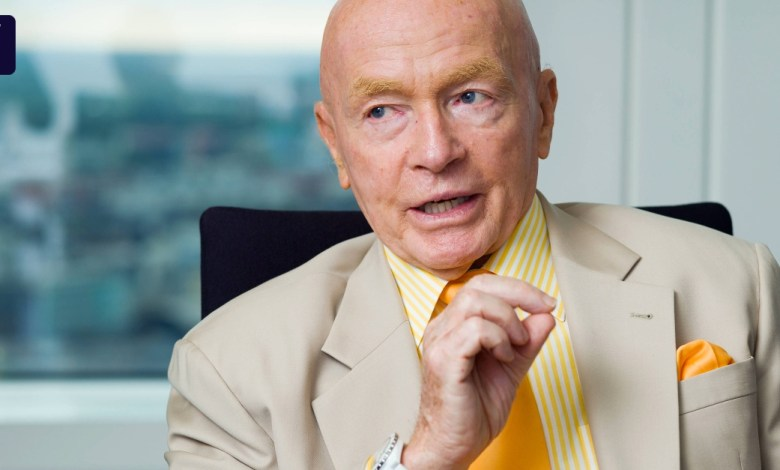 "Photo of Investor Mark Mobius: ""Alibaba split could be good"""