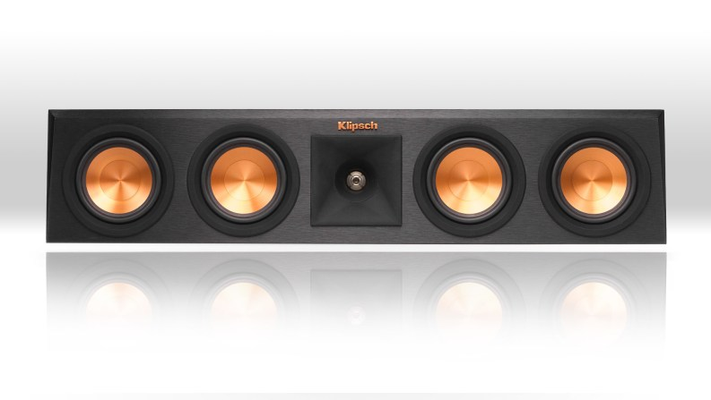 Klipsch-Reference-Premiere-Center-Channel-Speakers-Reflection