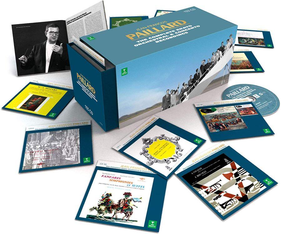 百雅(Jean-François Paillard)Erato 133 CDs 套裝