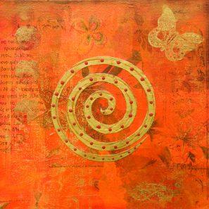 spirale orange shutterstock_6563206