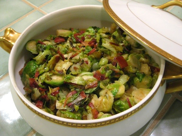 Brussels Sprouts & Pancetta Hash