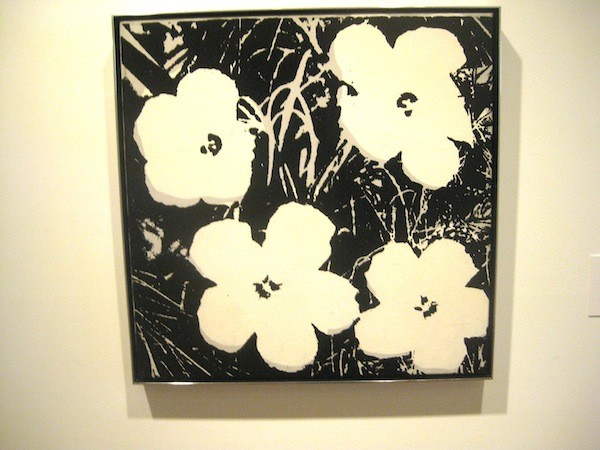 Andy Warhol Flowers at the Des Moines Art Center