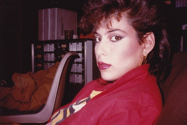Jewels in the studio in 1983