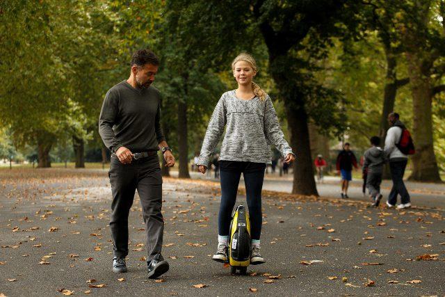 inmotion unicycle test ride