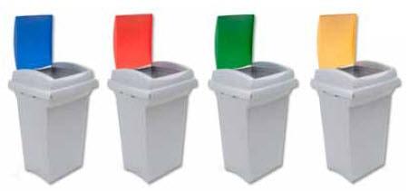 Bidón De Basura Para Reciclaje