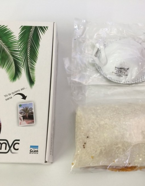 Phoemyc caja hongos para palmeras