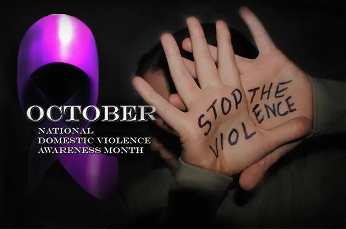 October Domestic awareness month