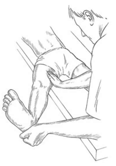 Figure 4 3 Assessment and Treatment Position for Medial Hamstrings