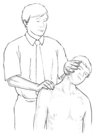 Figure 4 30 Assessment of the Relative Shortness of the Right Side Upper Trapezius Image 1