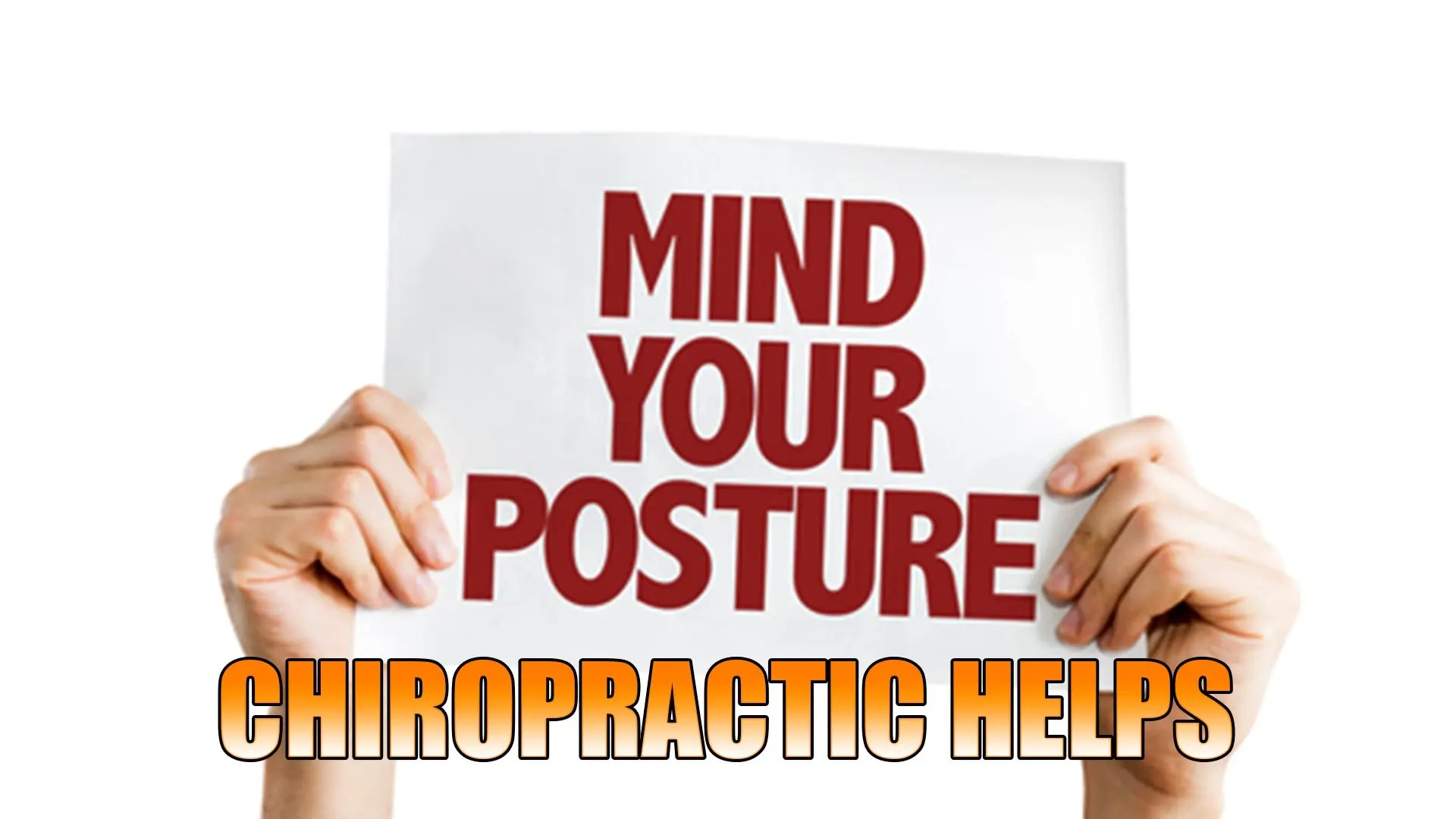 Improve Posture With Chiropractic | El Paso, TX.
