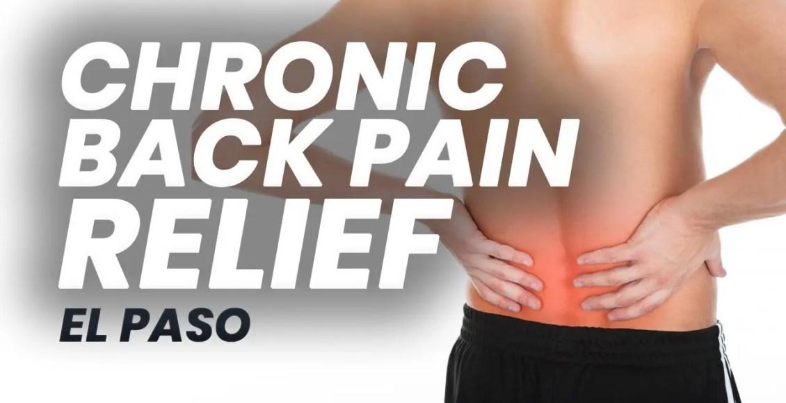 11860 Vista Del Sol, Ste.128 Chiropractic for Chronic Back Pain | El Paso, Texas (2019)