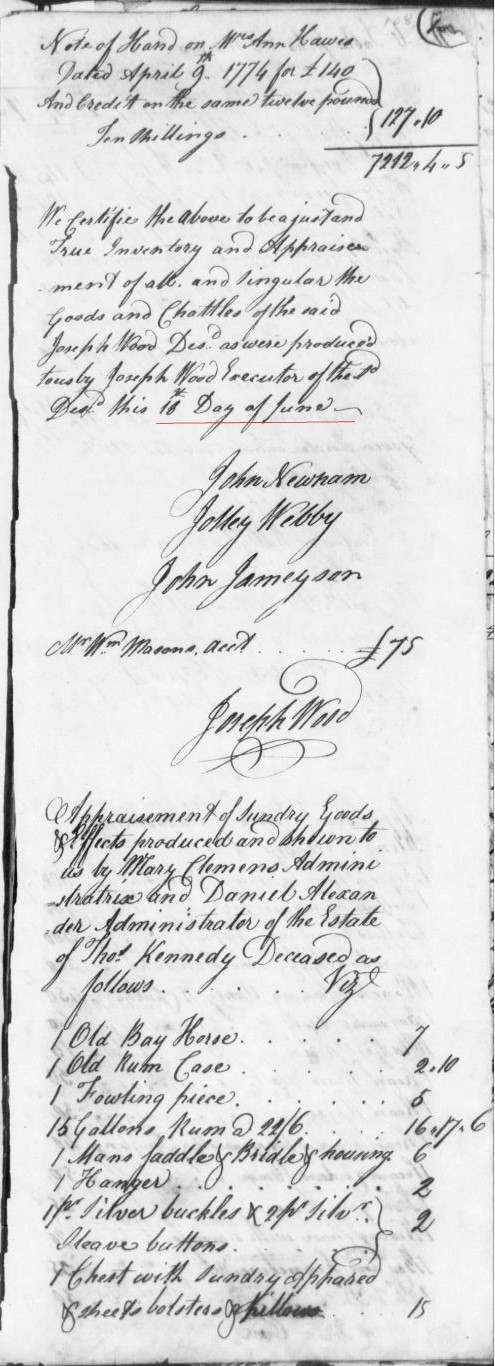 1717-22 Thomas Goin of Lunenburg Co, Va