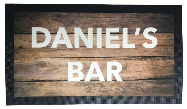 Design Your Own Bar Mat
