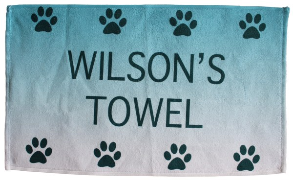 Design Your Own Pet Towel