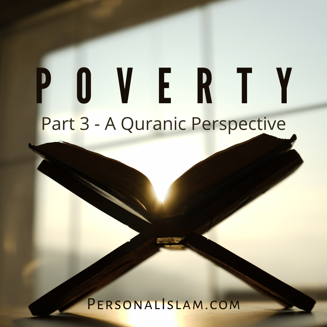 Poverty - A Quranic Perspective