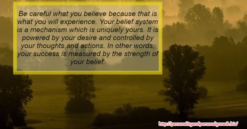 How Great is the Strength of Your Belief