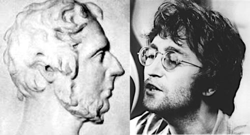 Branwell Bronte John Lennon 1
