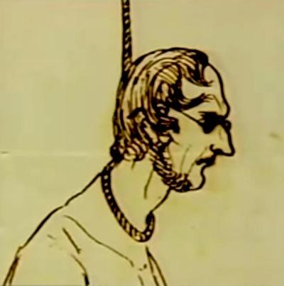 Branwell hanging sketch