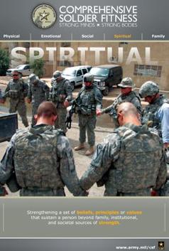 spiritual fitness poster