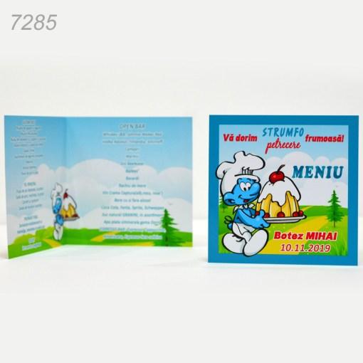 Meniuri Botez Strumfi Personalizate