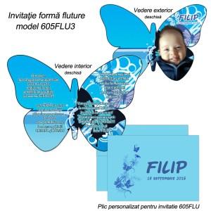 Invitatie Fluture