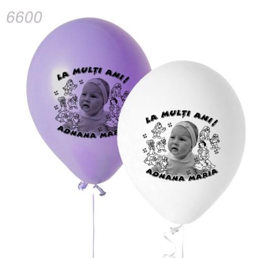 Baloane Alba Ca Zapada Si Cei Sapte Pitici