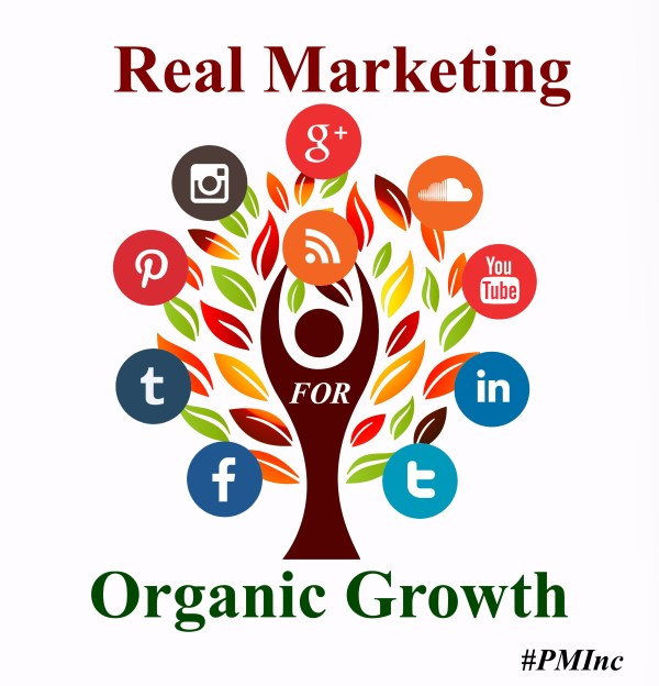 Real Marketing Organic Growth, #PMInc #Marketing #OrganicGrowth