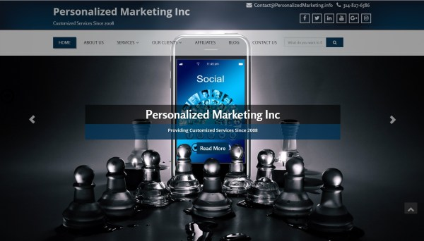 PMInc new look   Personalized Marketing Inc