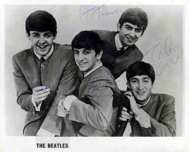 beatles-signed