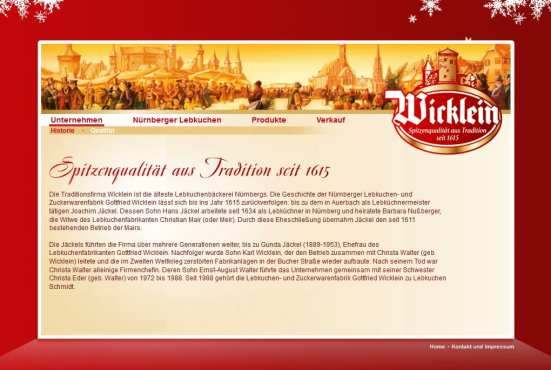 Auch auf der Website von Wicklein selbst finden sich keine Bewerberinformationen respektive Stellenanzeigen