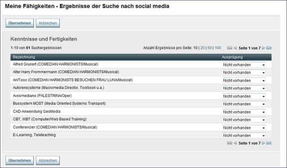 Suchergebnisse zum Stichwort Social Media bei der Arbeitsagentur