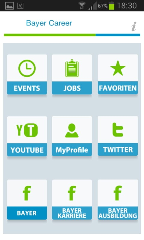 Mobile Recruiting mit der Bayer Karriere App für Android