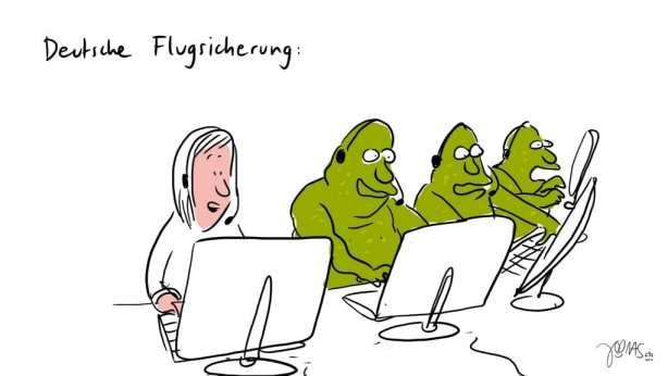 Frechmut - DFS - Fluglotsen