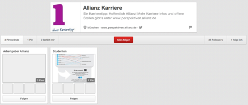 Allianz Karriere auf Pinterest - Gähnende Leere