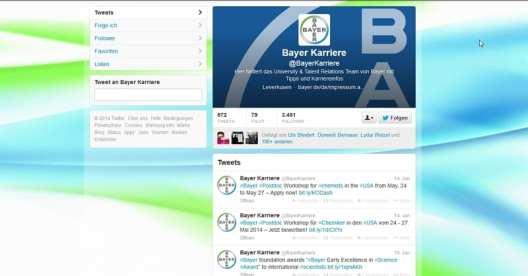 Bayer Karriere - kein Team, kein Dialog, kein gar nichts...